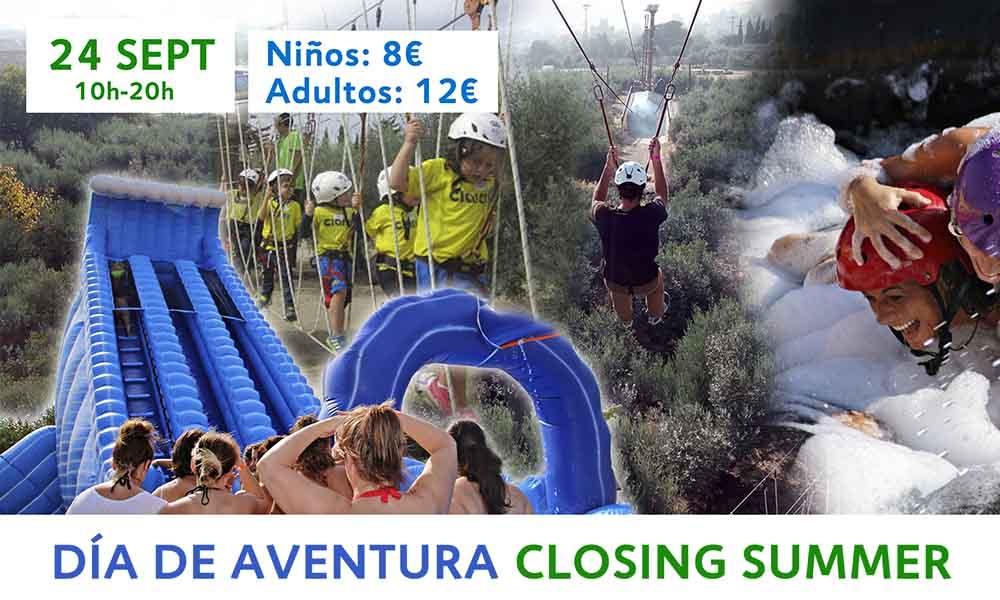 Día de Aventura Closing Summer Humor Azul